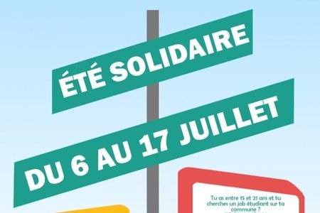 Jobs étudiants « Été solidaire »