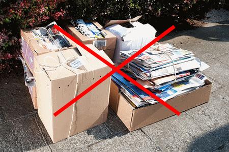 Pas de collecte papiers-cartons ce mardi 31 mars
