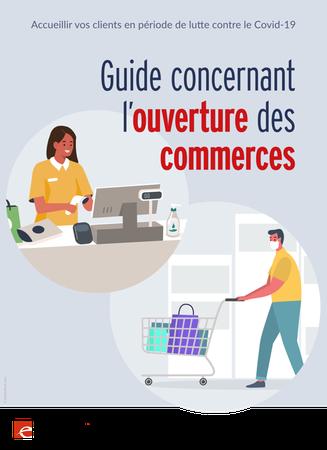Un guide à destination des commerçants pour la réouverture
