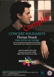 Concert solidarité Florian Noack