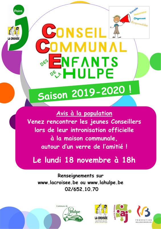 affiche intronisation 20192020