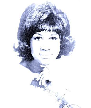 Aretha Franklin, gospel singer