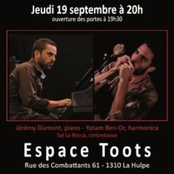 Concert Jérémy Dumont & Yotam Ben-Or