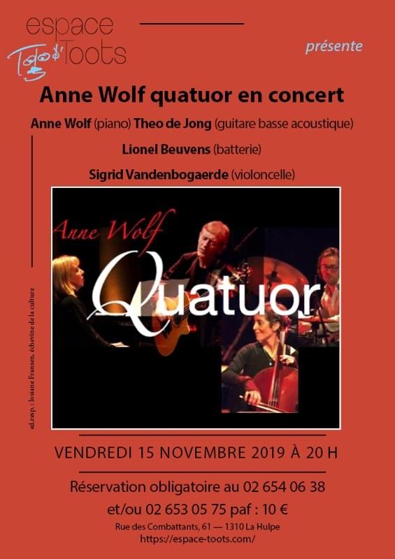 Anne Wolff quatuor bis